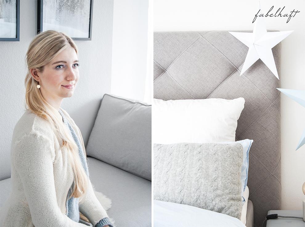 Lumimaja Ohrringe Plättchen Disc Gold Armband Eisblau Januar Winter Schlafzimmer Style Interior Blond Blogger Fashion Trend Mode 5