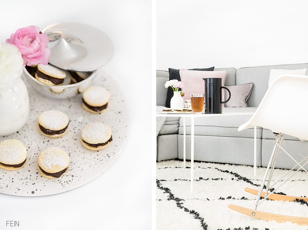 Samt Interior White Living