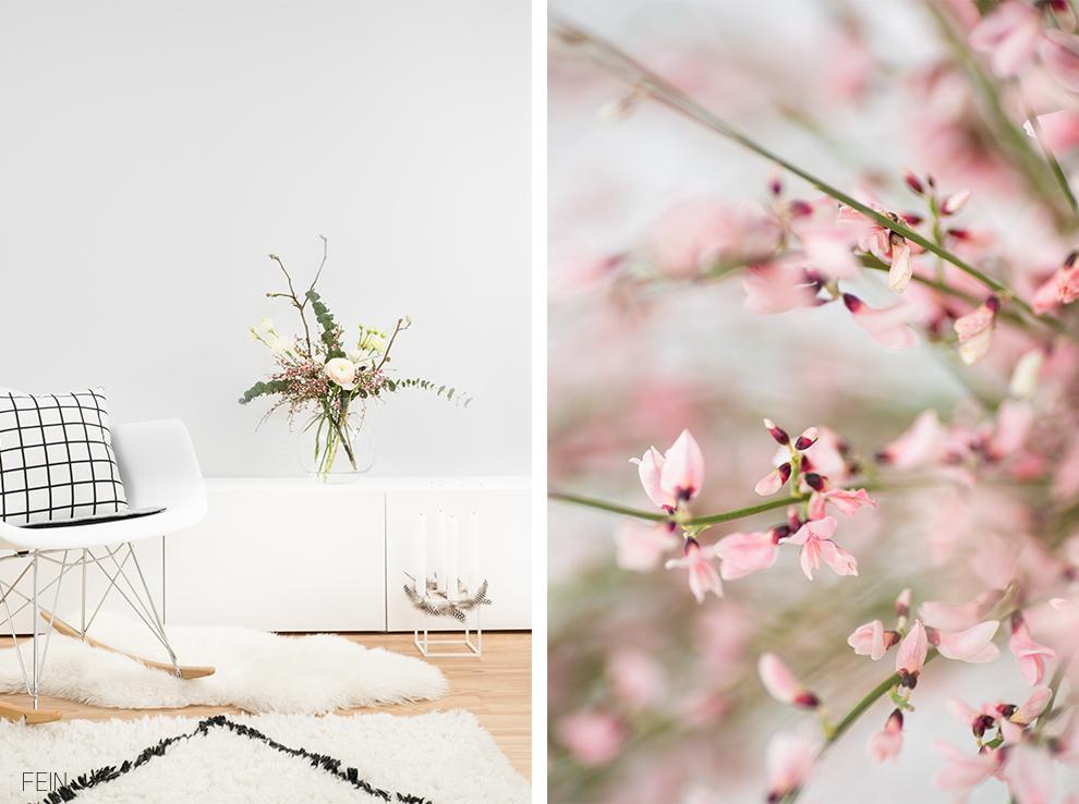 Scandi Stil Blüten