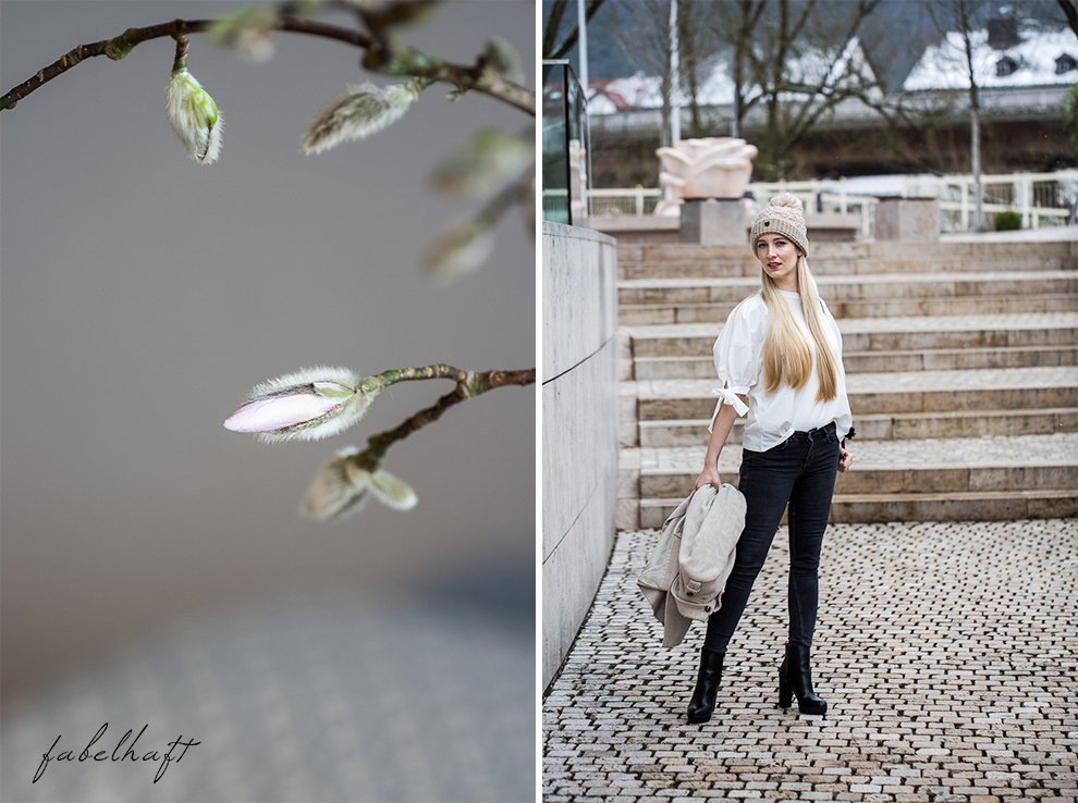 Winter Outfit Schleife Volants Trend Mode Style Magnolien Fashion 4