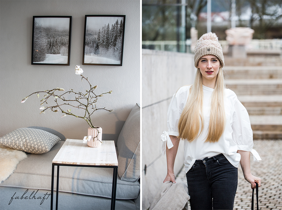 Winter Outfit Schleife Volants Trend Mode Style Magnolien Fashion 5