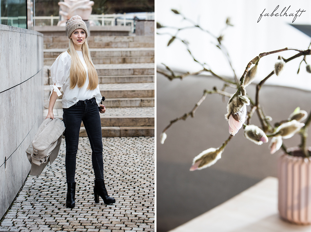 Winter Outfit Schleife Volants Trend Mode Style Magnolien Fashion 6