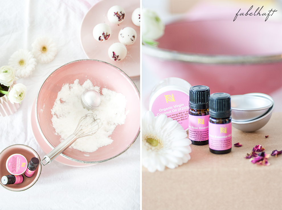 Naissance DIY Badebombe Fizz Badekugel Homemad Selber machen Lemon Kit Set Beauty Badewanne Bath 8