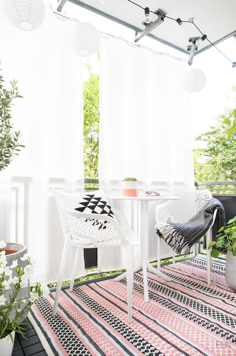 Balkonsaison Sytling Tipps