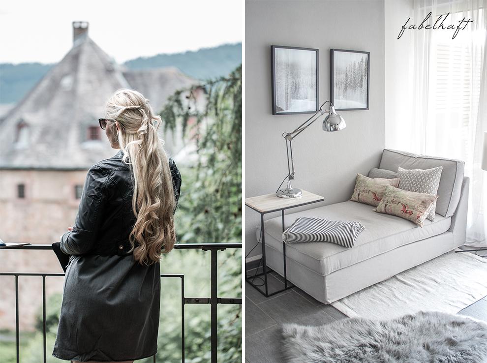 Schloßgarten Marburg Outfit Sommer Kleid Jeanskleid Valentino Rockstud Interior Chippendale Restaurantion Home Projekt 2