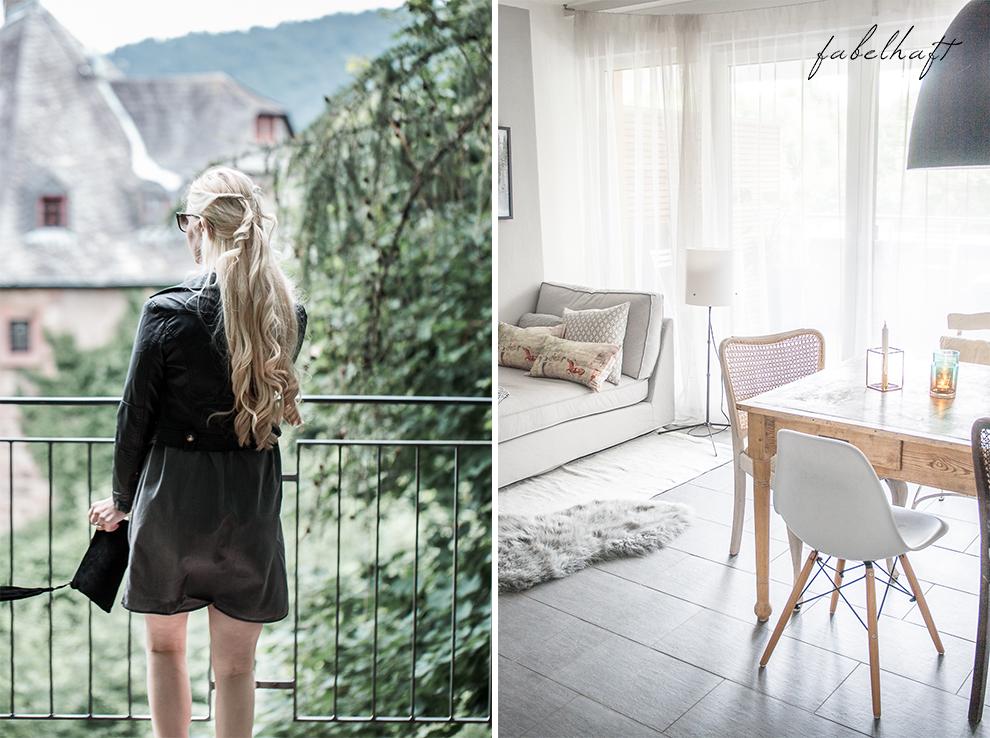 Schloßgarten Marburg Outfit Sommer Kleid Jeanskleid Valentino Rockstud Interior Chippendale Restaurantion Home Projekt 3