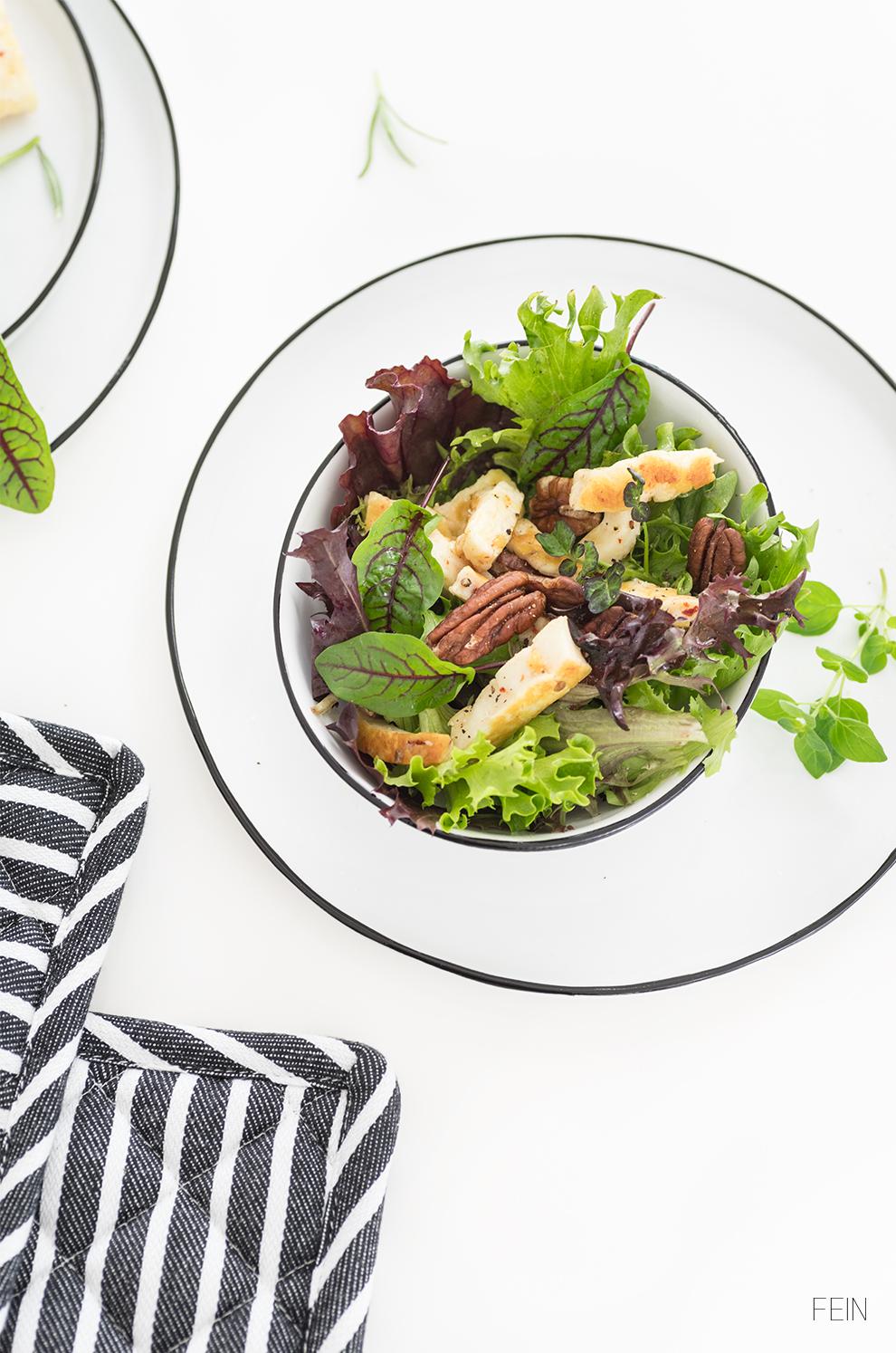 Sommer Salat Garten Kräuter