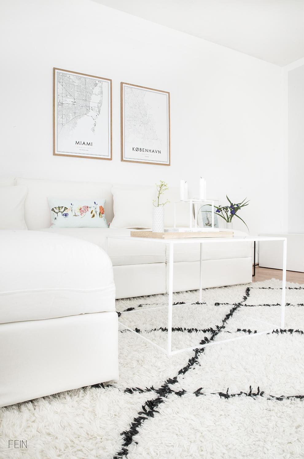 Sommerwiese Wohnzimmer Dekoration