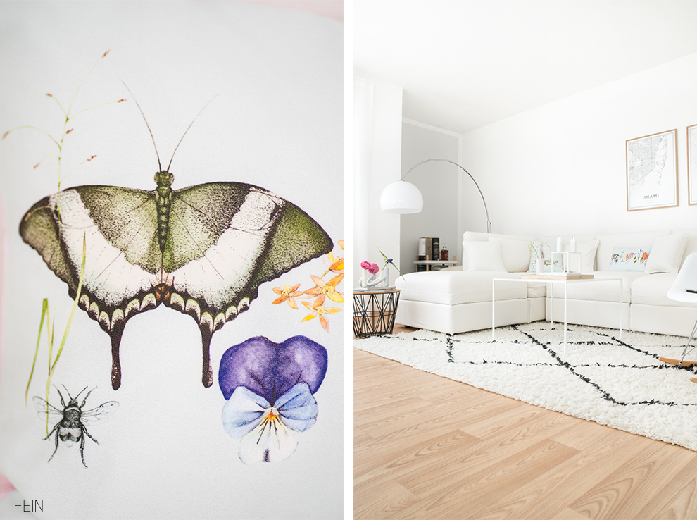 Sommerwiese Wohnzimmer Interior Summer