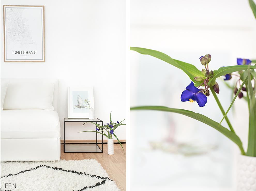 Sommerwiese Wohnzimmer Sofa Kissen
