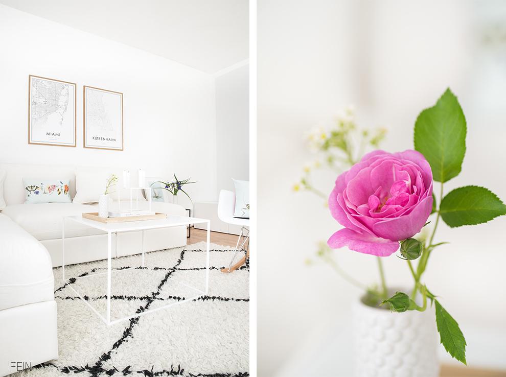 Sommerwiese Wohnzimmer
