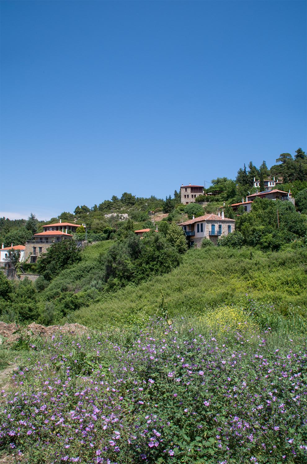 Urlaub Griechenland Bergdorf