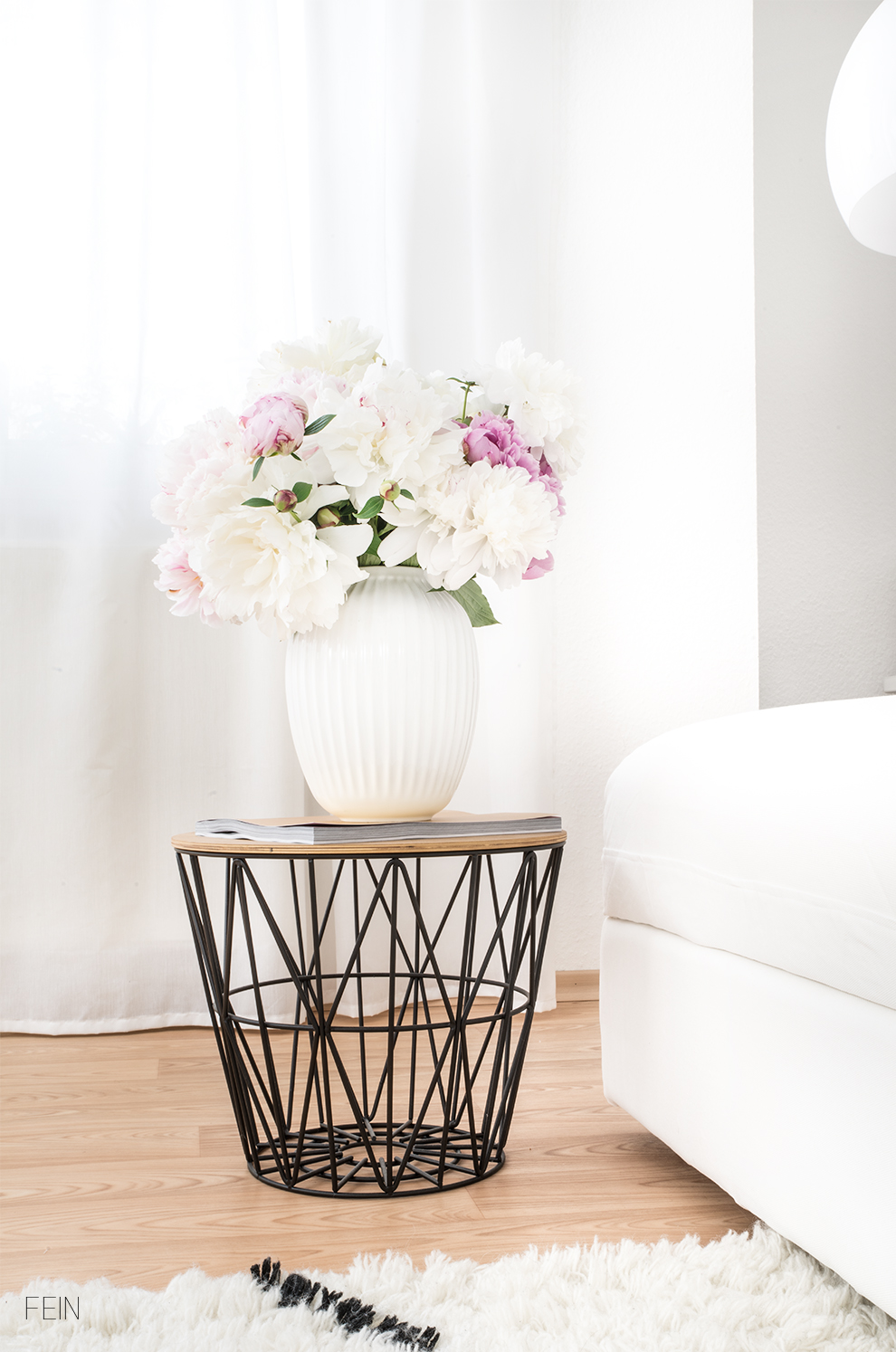 Weißes Sofa Summer Interior