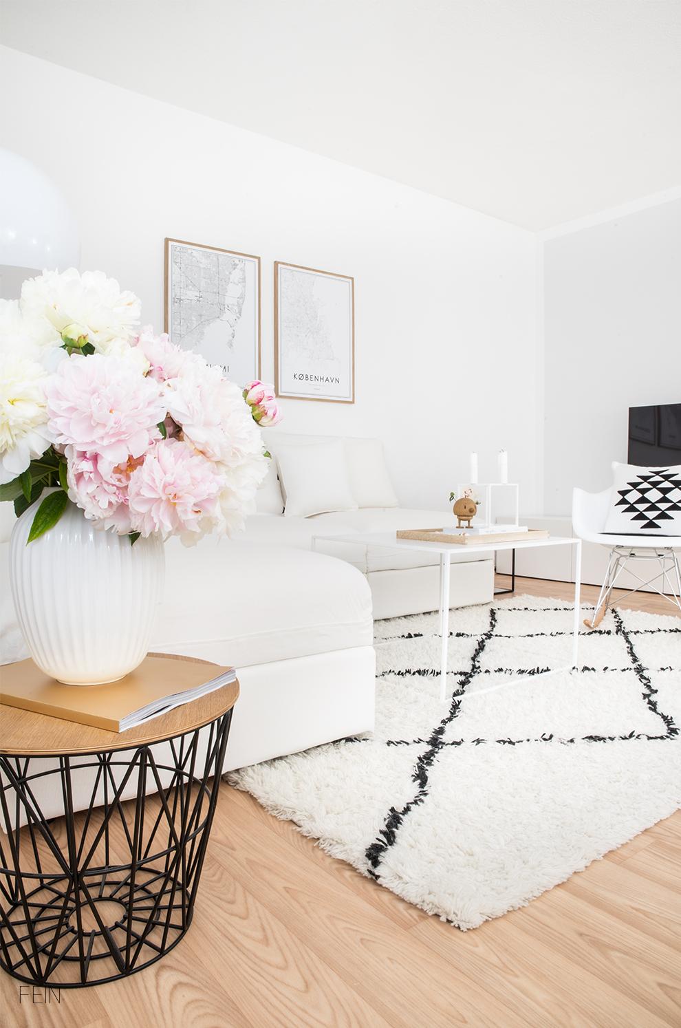 Weißes Sofa Wohnen Interior