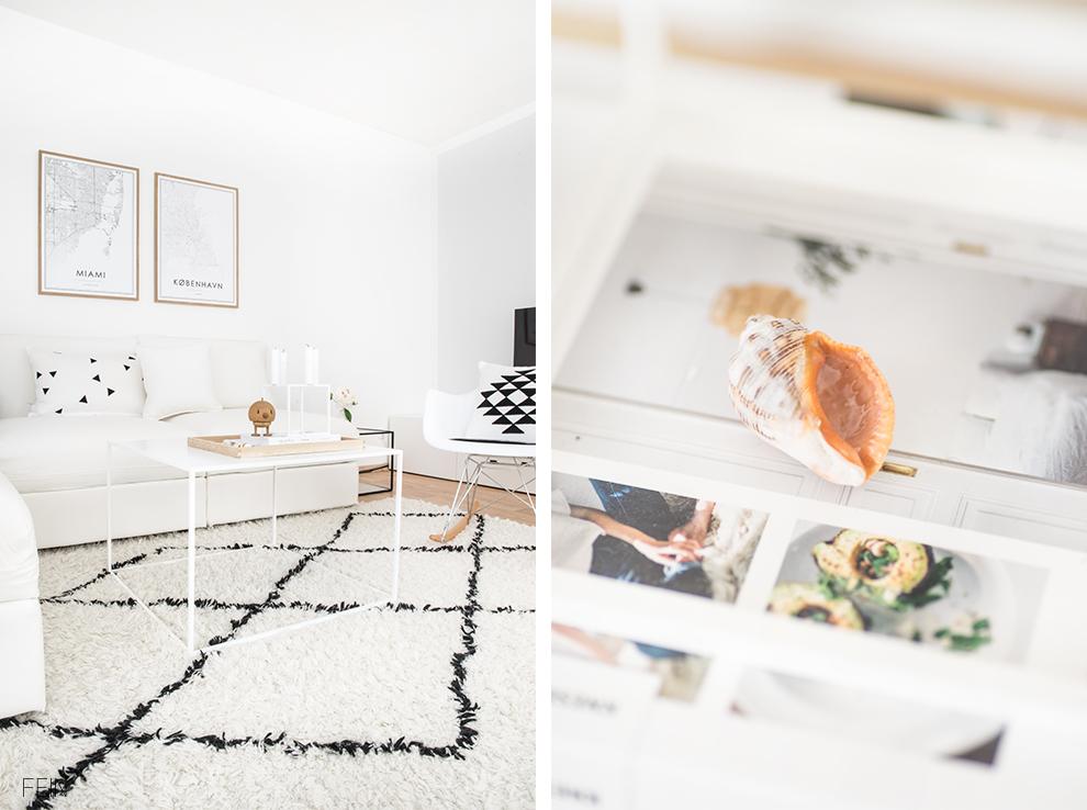 Weißes Sofa Wohnzimmer