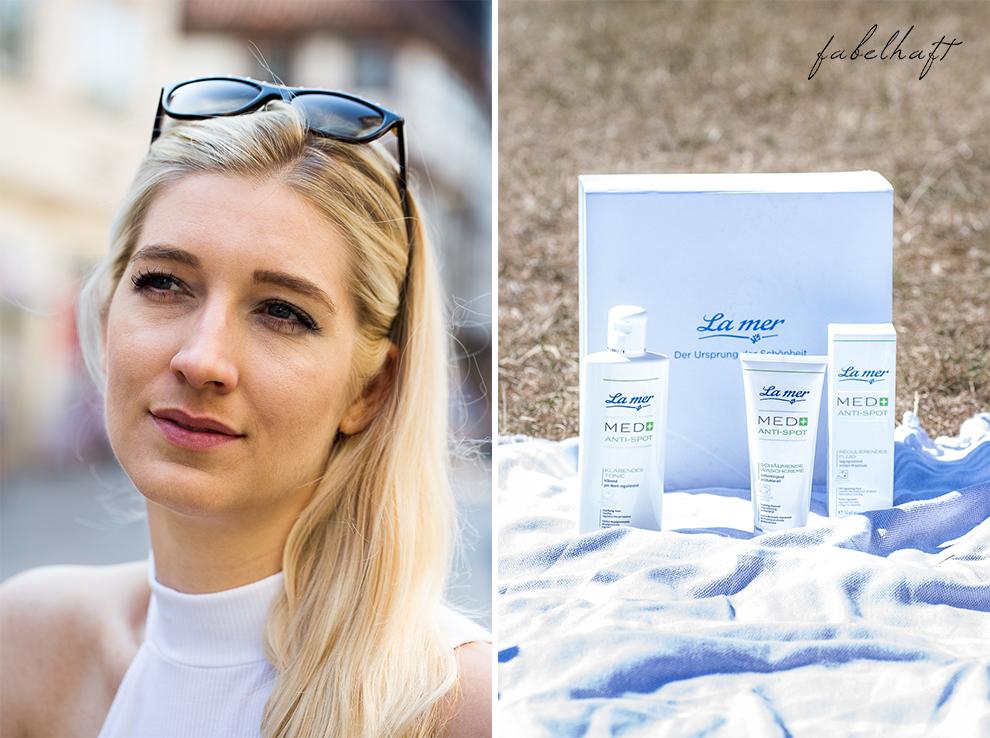 La Mer on the Spot Reinigung Geischtspflege klärend Meeresschlick Erfahrungen Haut Akne