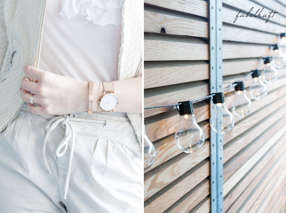 Spitze Kleid Weiß Elegant Fashion Mode Trend Weiß Beige Blond BLogger Fein und Fabelhaft 7