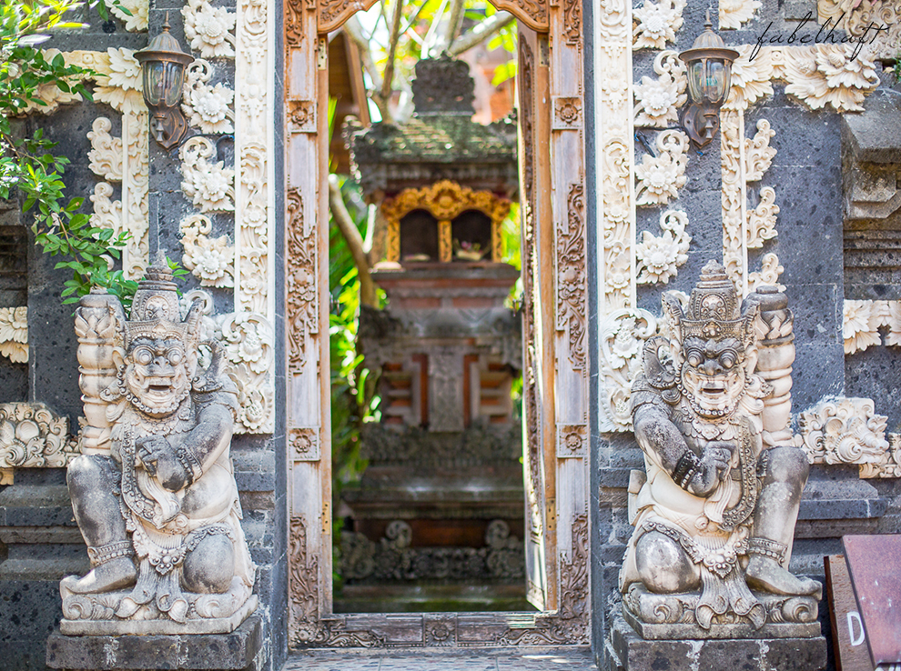 Ubud Bali Markt Korbwaren Stand Tradition Kultur Stadt 3
