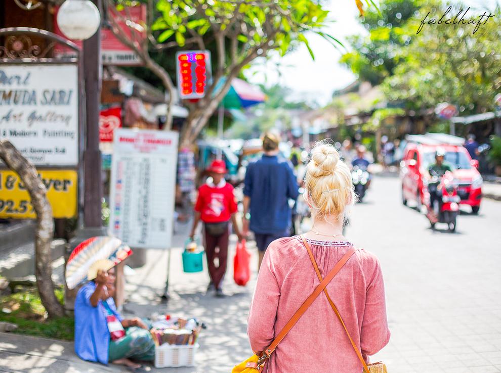 Ubud Bali Markt Korbwaren Stand Tradition Kultur Stadt 9