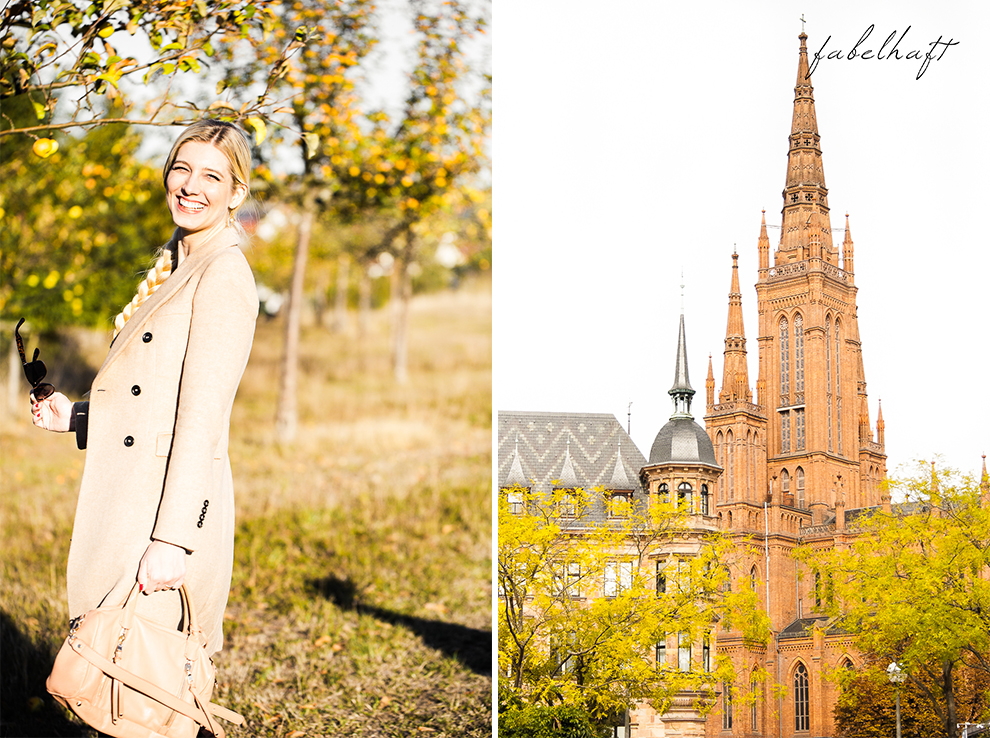 Herbst Mantel Cognac Outfit Blogger Fashion Mode Lifestyle Wiesbaden 5