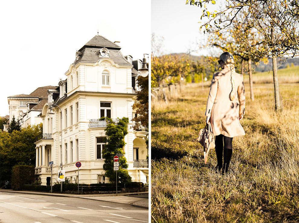 Herbst Mantel Cognac Outfit Blogger Fashion Mode Lifestyle Wiesbaden 6