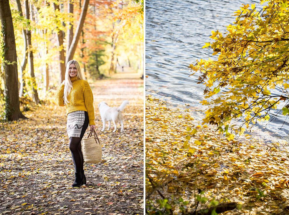 Herbst Lookbook Senfgelb Ethno Blond BLogger Girl Mode Trend Fashion Lifestyle Lebensfreude 2