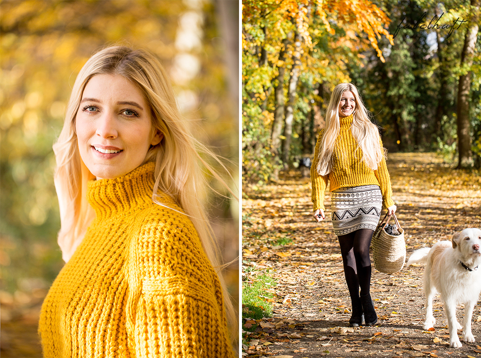 Herbst Lookbook Senfgelb Ethno Blond BLogger Girl Mode Trend Fashion Lifestyle Lebensfreude 3