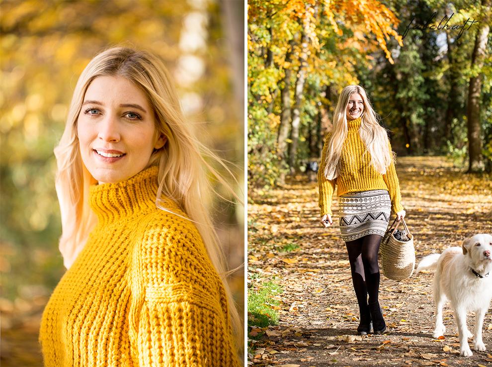 Herbst Lookbook Senfgelb Ethno Blond BLogger Girl Mode Trend Fashion Lifestyle Lebensfreude 3