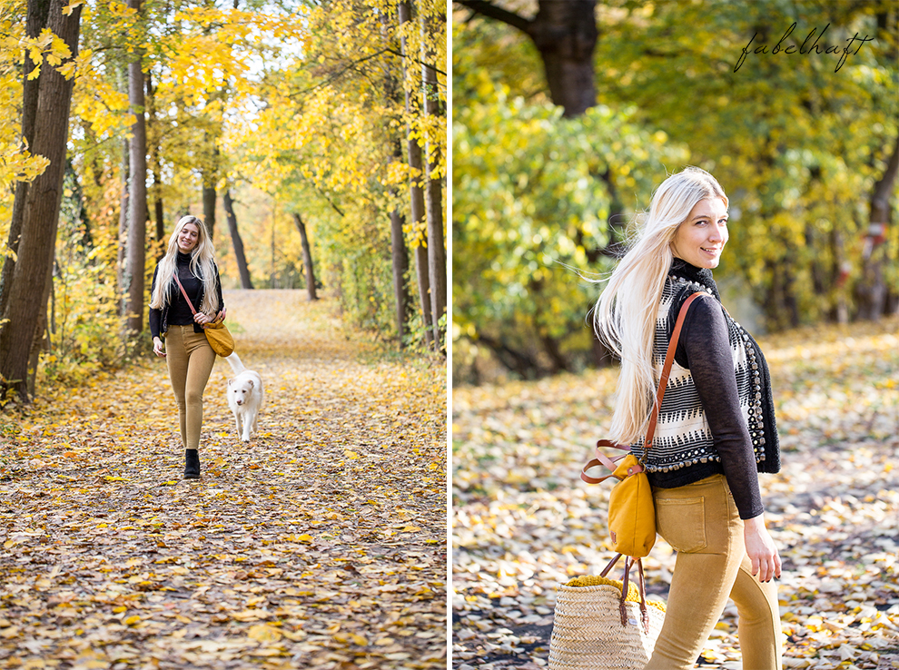 Herbst Lookbook Senfgelb Ethno Blond BLogger Girl Mode Trend Fashion Lifestyle Lebensfreude 7