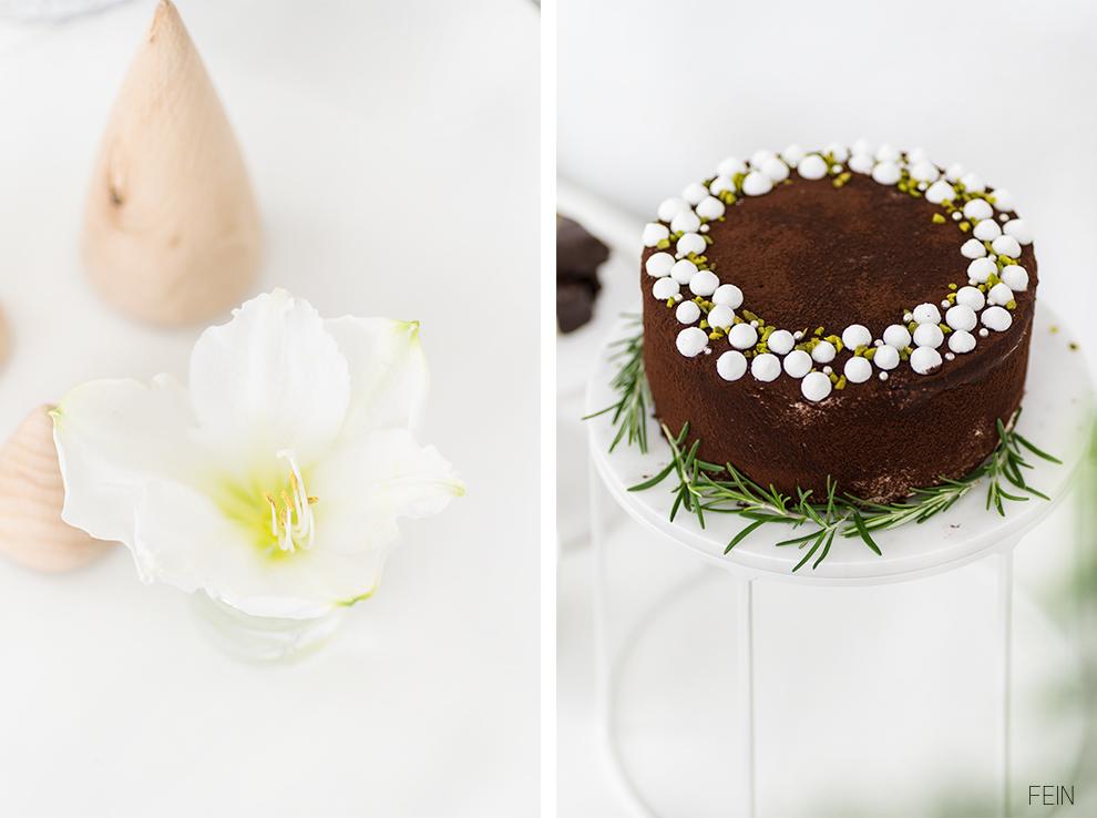 Schoko Biskuit Torte Lebkuchen Sweet Table