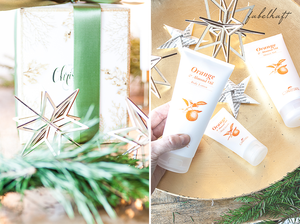 La Nature Weihnachten Geschenk Kosmetik Orange Advent Beauty Blogger Fein und Fabelhaft 3