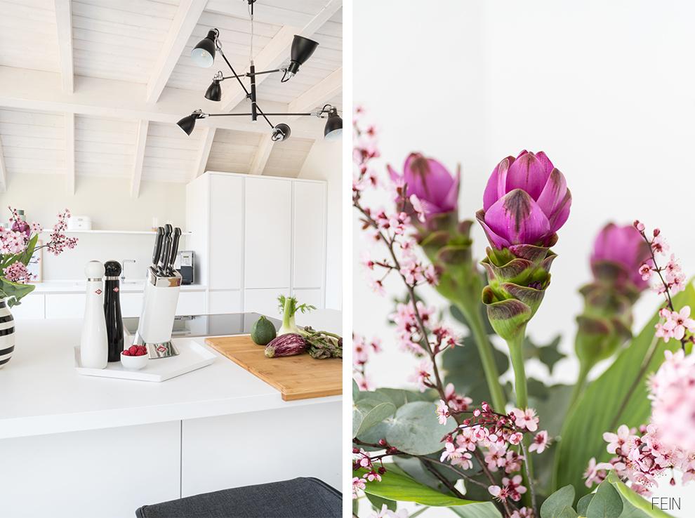 Küche farbenfroh Accessoires Design