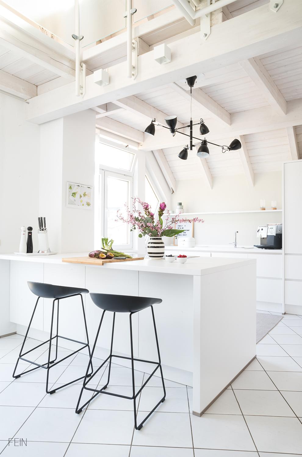 Küche modern weiß