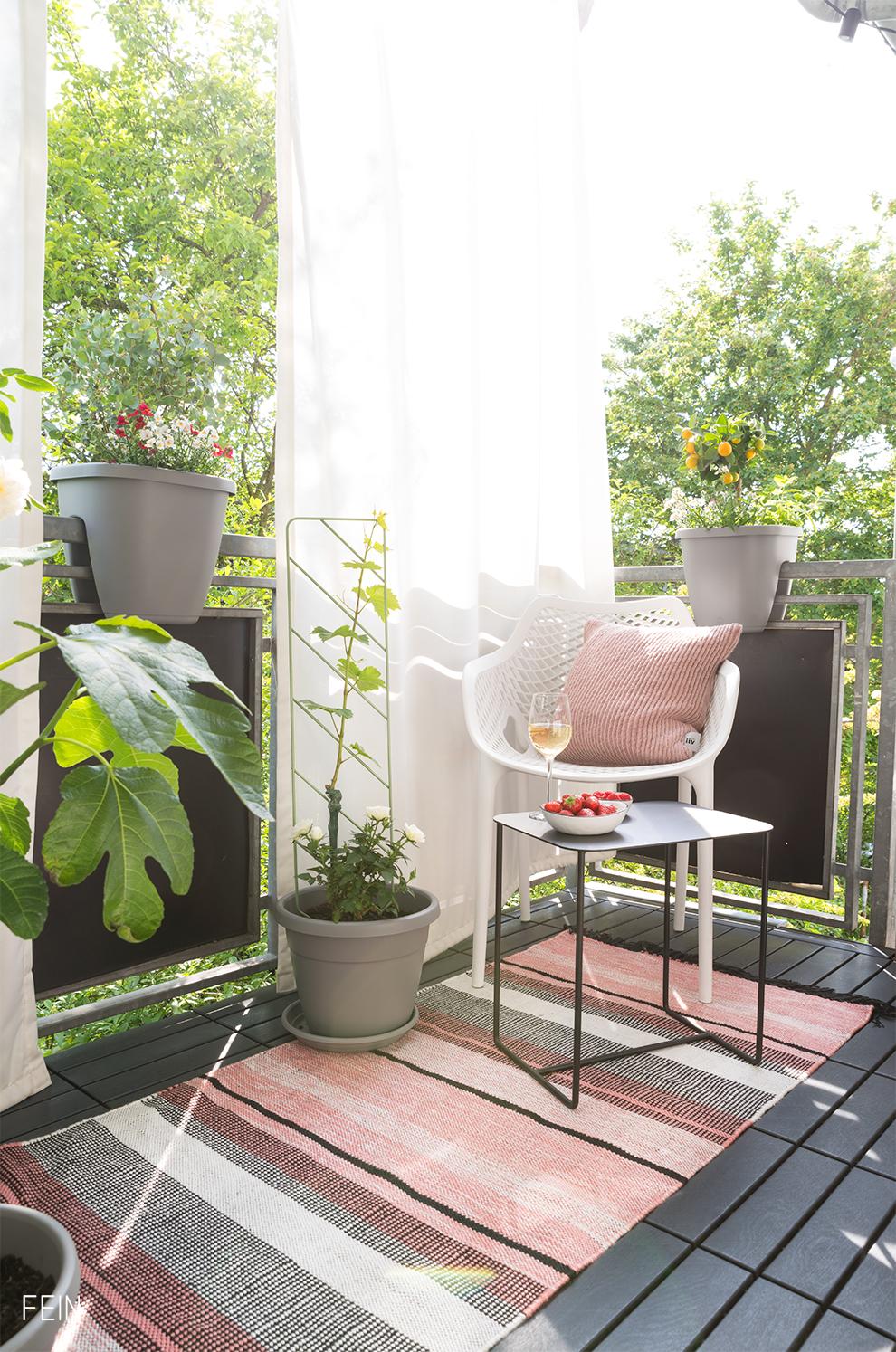 Urban Gardening Balkon