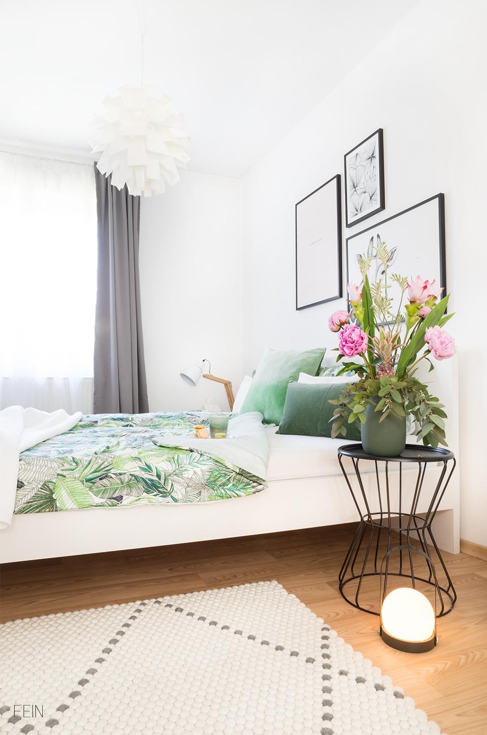 Dschungel Schlafzimmer Bettwäsche exotisch