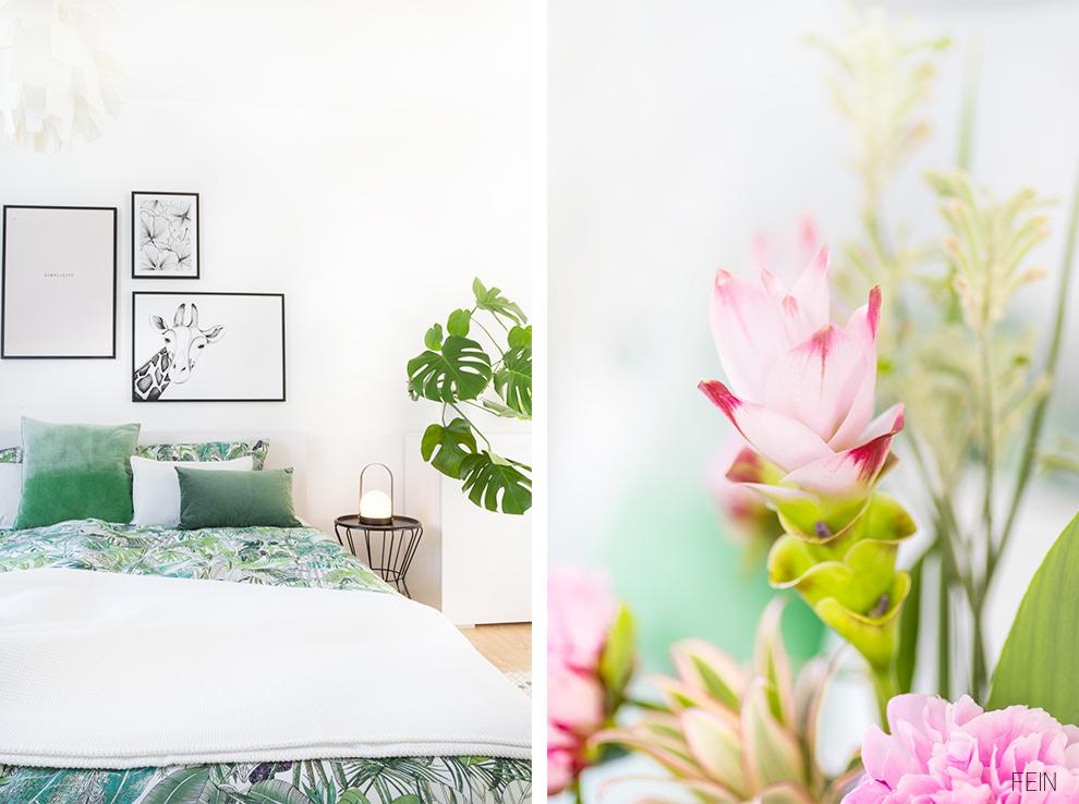 Dschungel Schlafzimmer Pflanzen