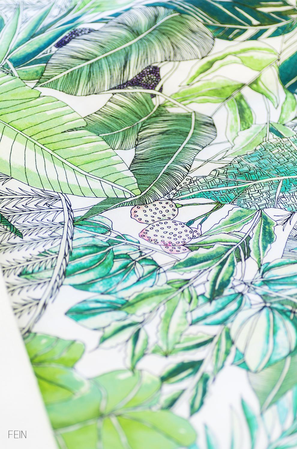 Dschungel Urban Jungle Bettwäsche