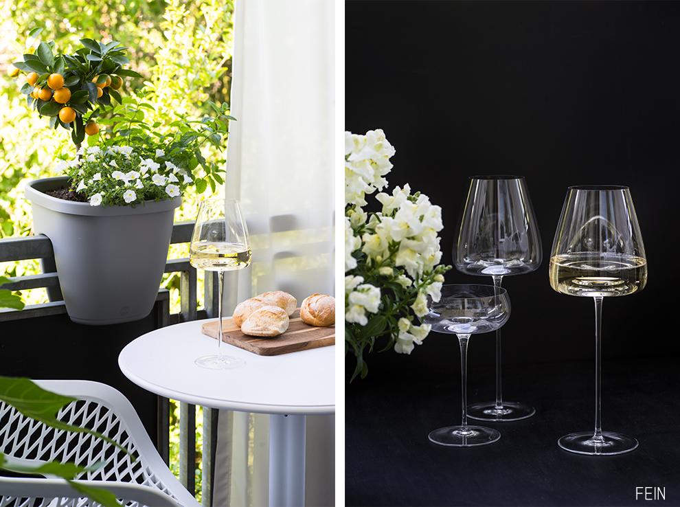 Wein Genuss Glas Zieher