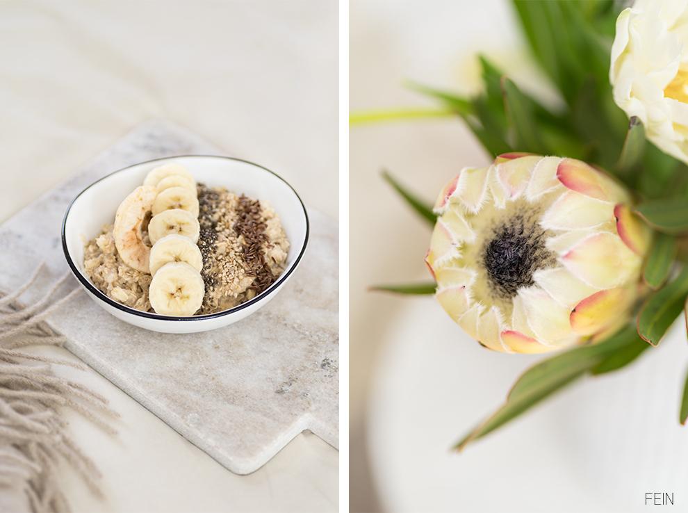 Beige Natur Porridge