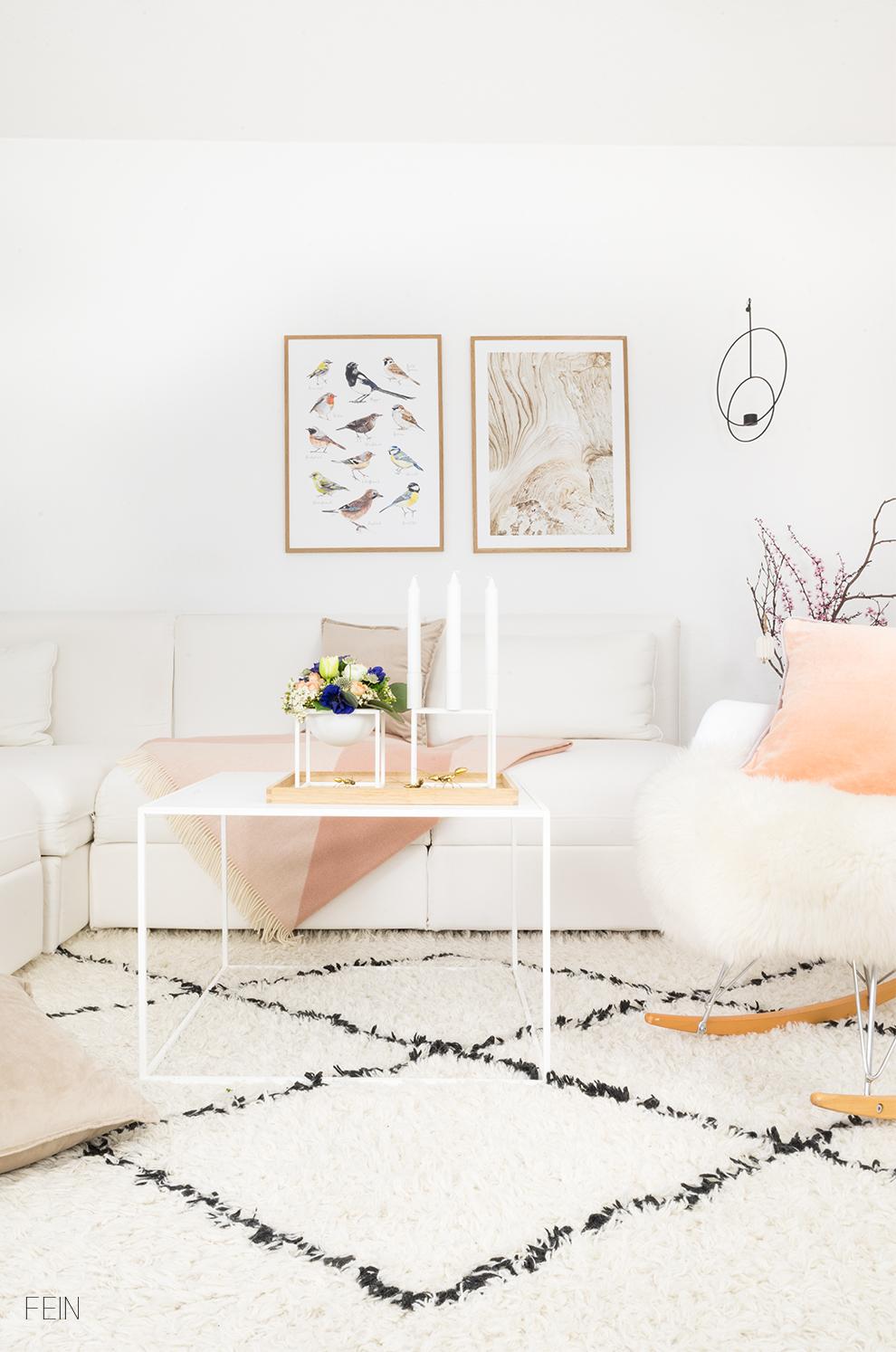 Osterideen Wohnzimmer