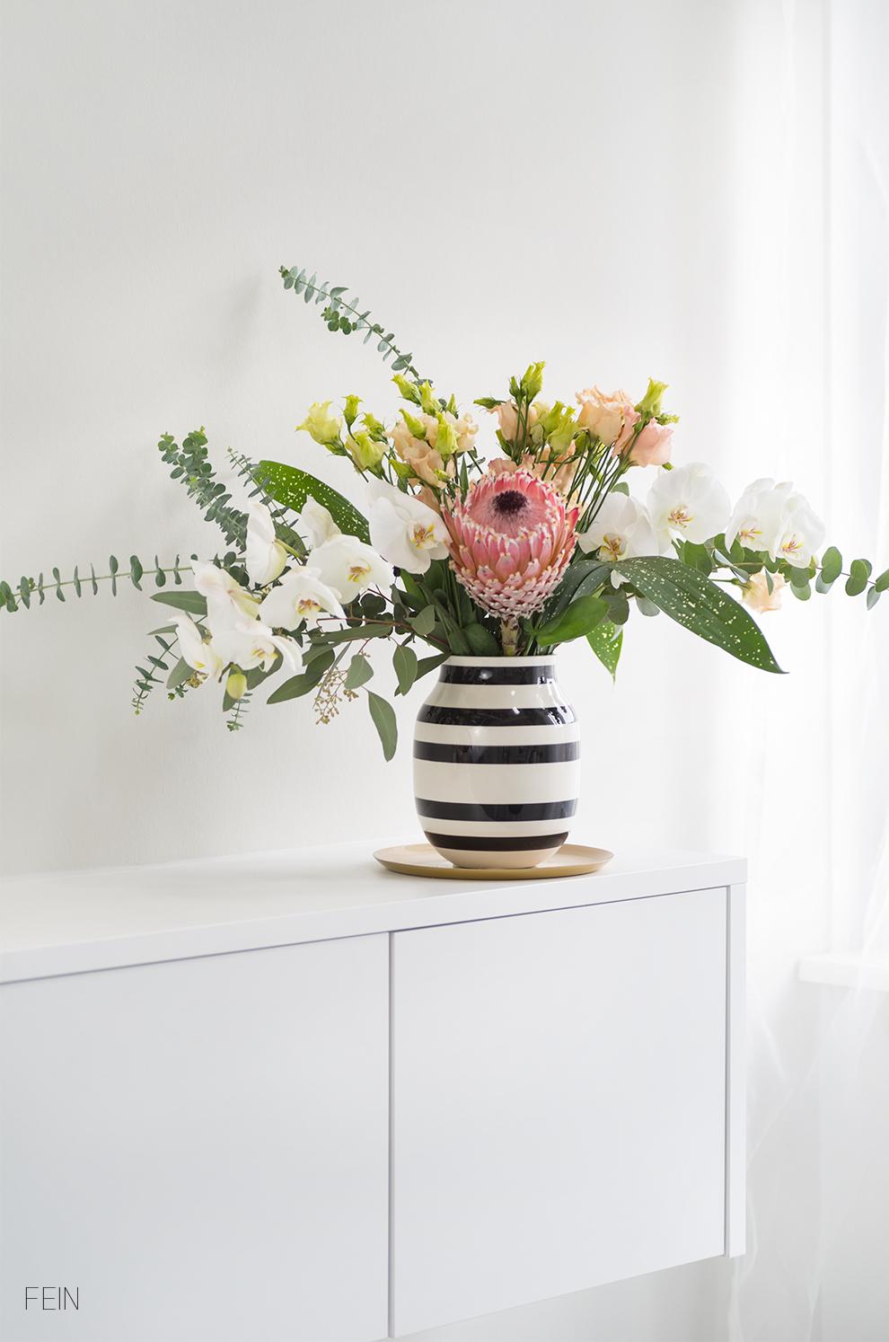 Pflanzen Blumenstrauß skandinavisch