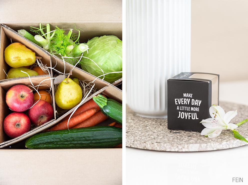 Frühlingslaune Obst Gemüse