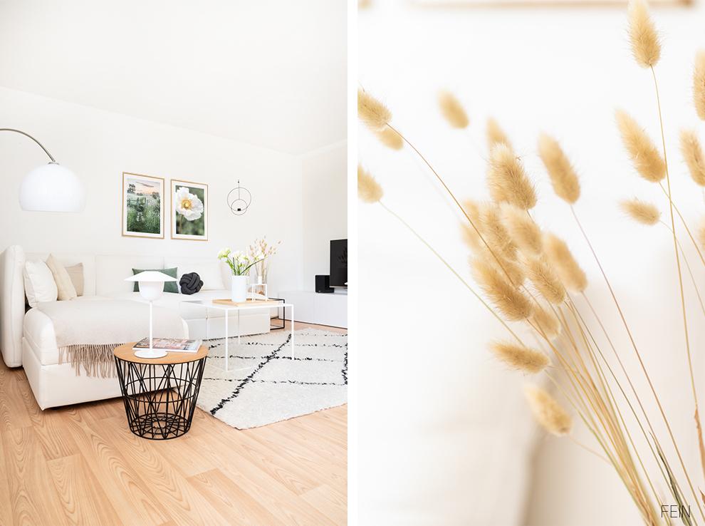 Sommer Wiese im Wohnzimmer