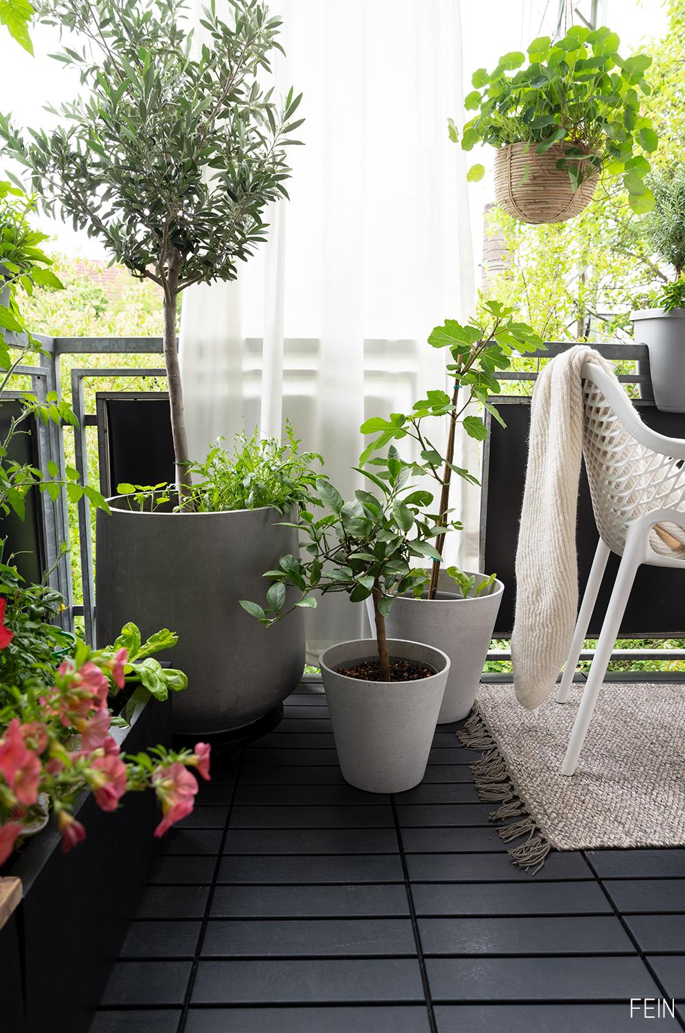 Balkon Töpfe