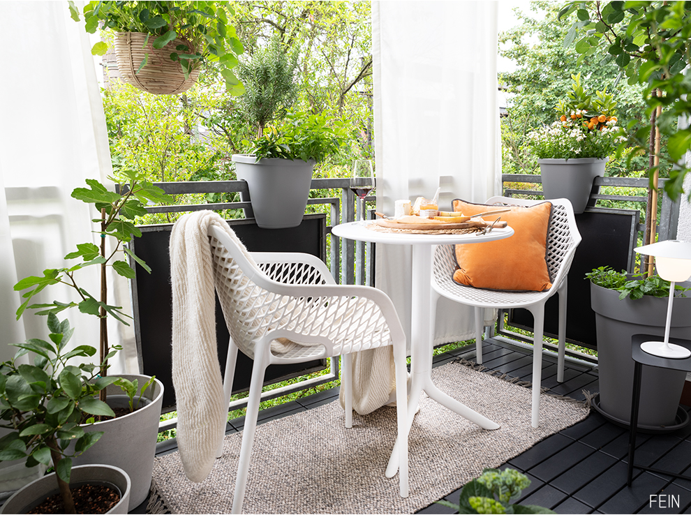 Ideen für kleine Balkone