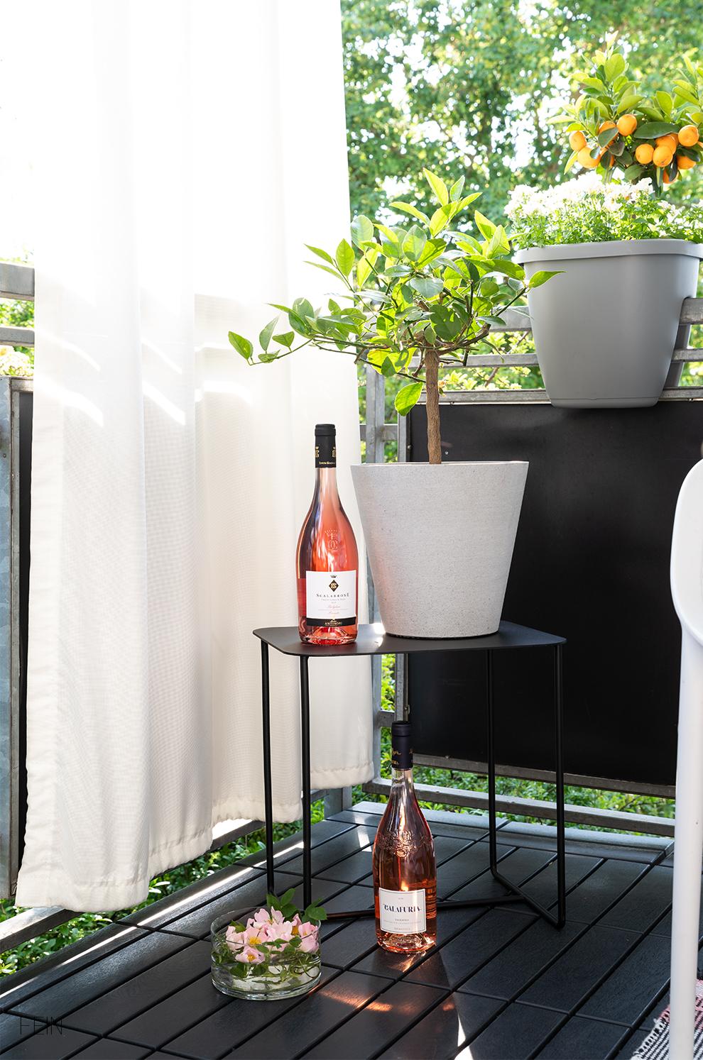 Rose Wein Italien