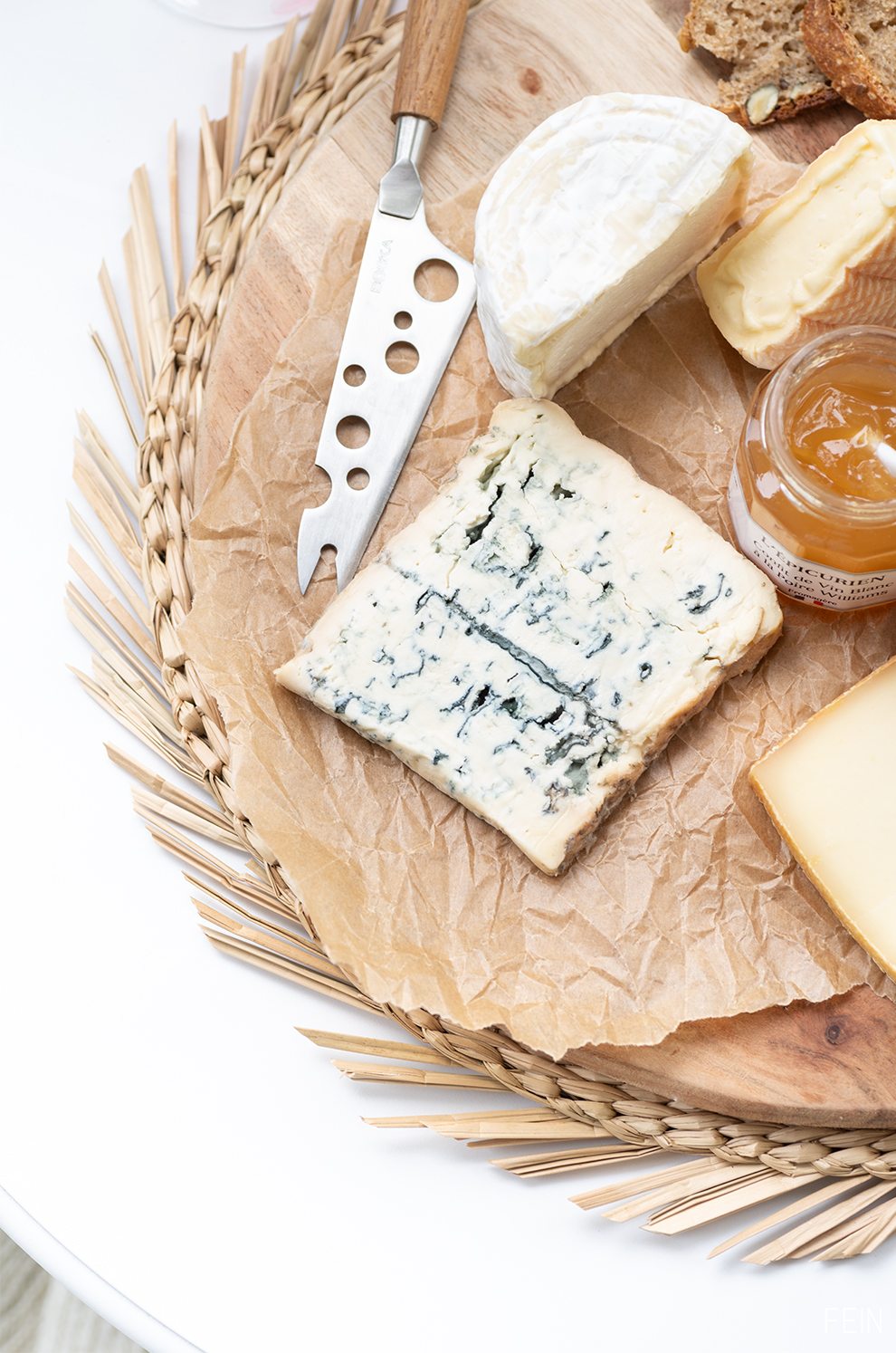 Zuhause genießen Käse