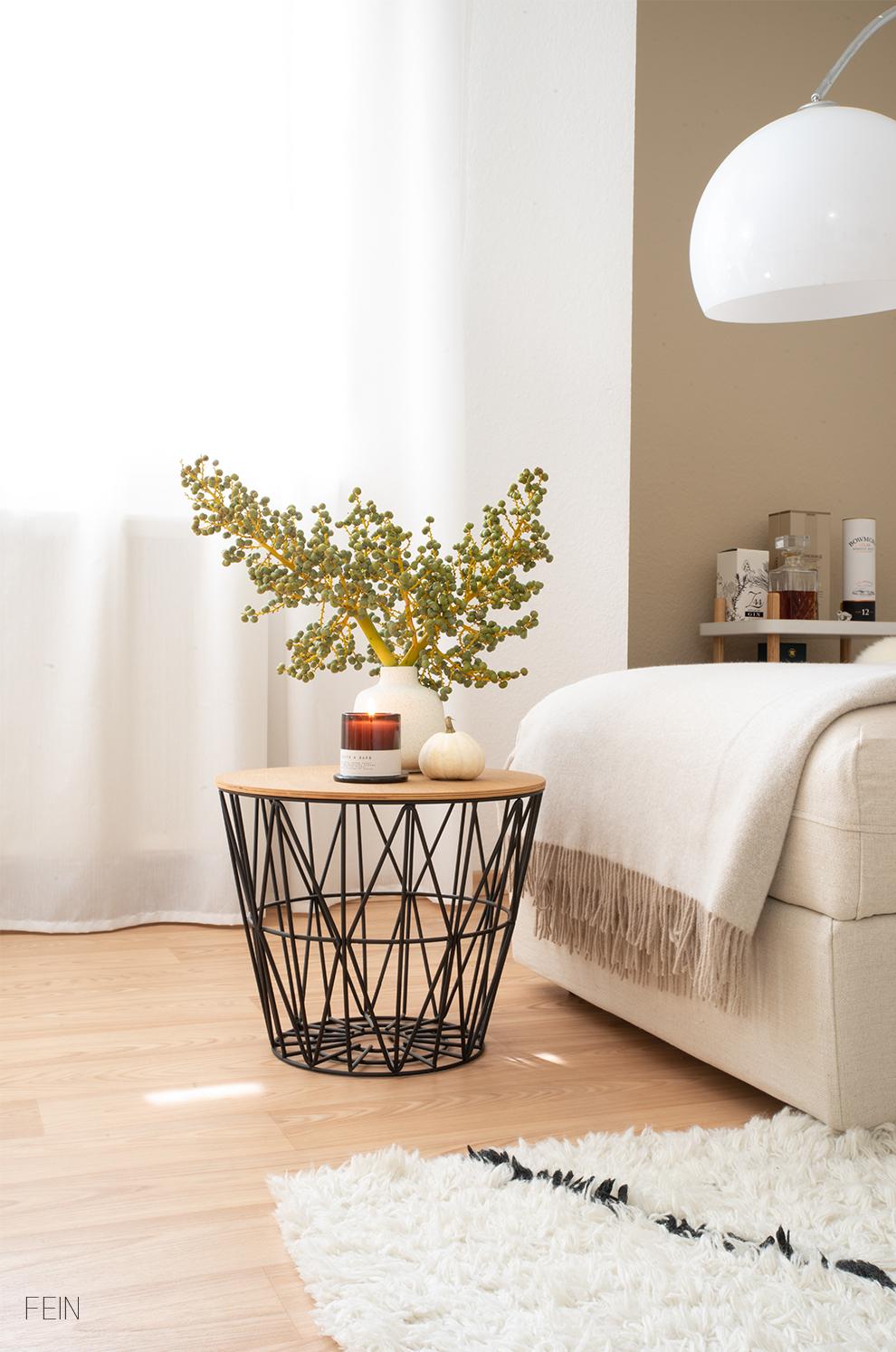 Leinen Sofabezeug Herbstlook 2