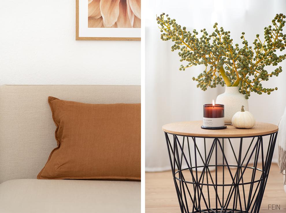 Leinen Sofabezug Herbst 2