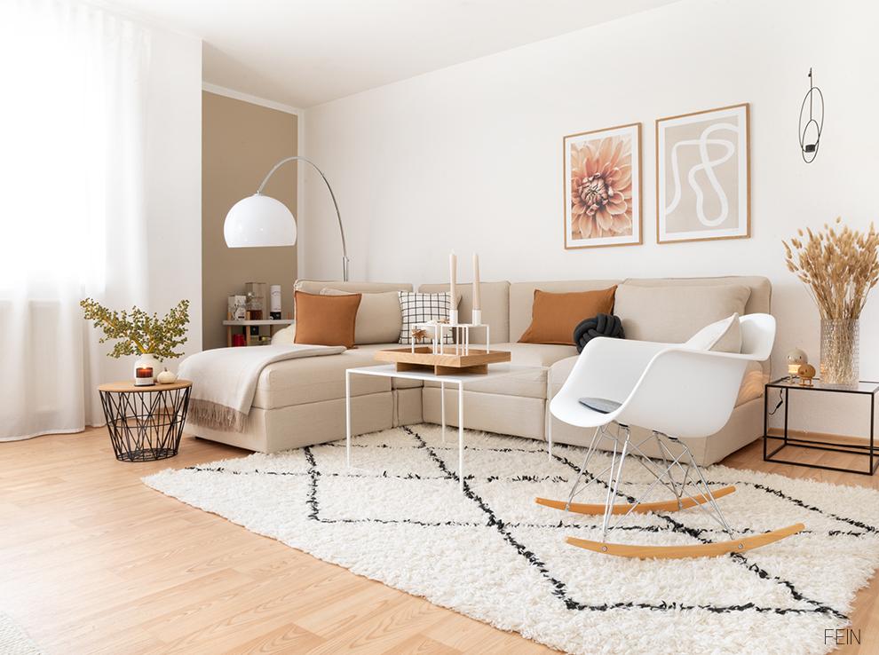 Leinen Sofabezug Wohnzimmer 2